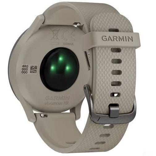 Produktimage des Garmin Vivomove HR Sport Schwarz/Beige S/M