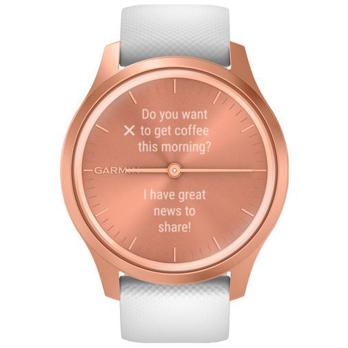 Productafbeelding van de Garmin Vivomove Style Rose Gold/White