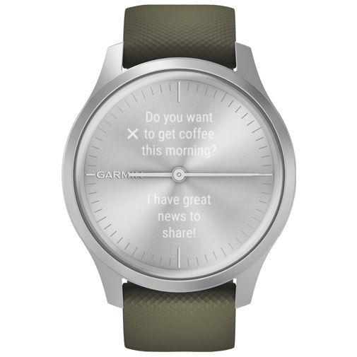 Productafbeelding van de Garmin Vivomove Style Silver/Green