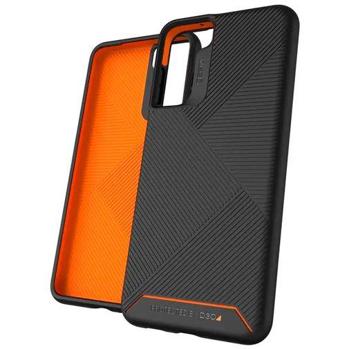 Productafbeelding van de Gear4 Denali Kunststof Back Cover Zwart Samsung Galaxy S21 5G