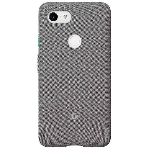 Productafbeelding van de Google Fabric Case Grey Google Pixel 3 XL