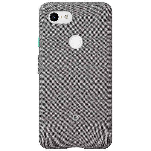 Produktimage des Google Fabric Case Grau Google Pixel 3 XL