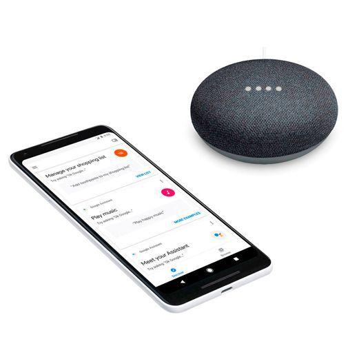 Produktimage des Google Home Mini Schwarz