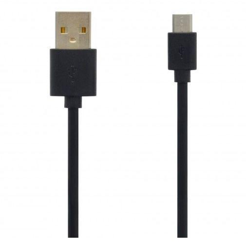 Produktimage des Grab 'n Go Kabel Micro-USB 1 Meter Schwarz