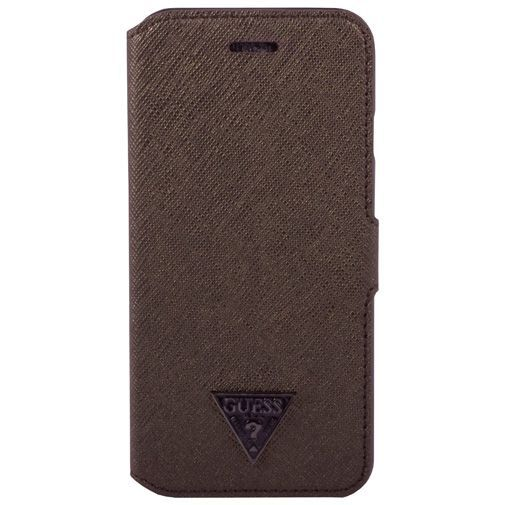 Guess Book Case Brown Apple iPhone 6/6s