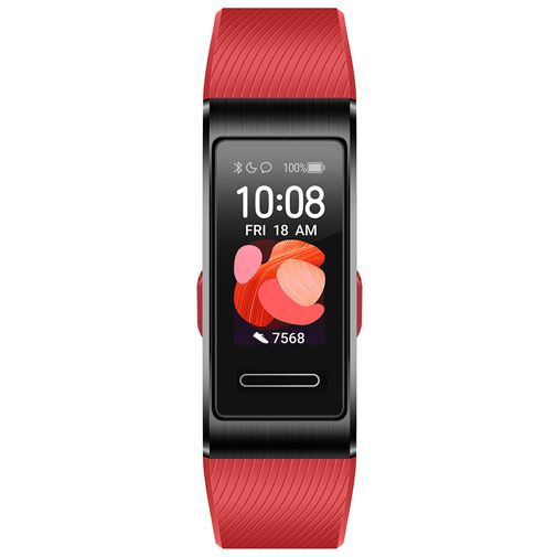 Productafbeelding van de Huawei Band 4 Pro Red