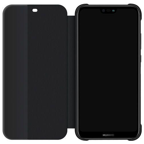 Produktimage des Huawei Flip Cover Schwarz Huawei P20 Lite