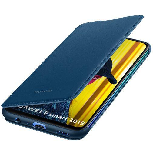 Productafbeelding van de Huawei Flip Cover Blue Huawei P Smart (2019)