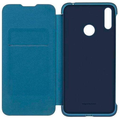 Productafbeelding van de Huawei Flip Cover Blue Huawei Y7 (2019)