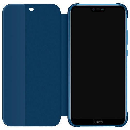 Productafbeelding van de Huawei Flip Cover Blue P20 Lite