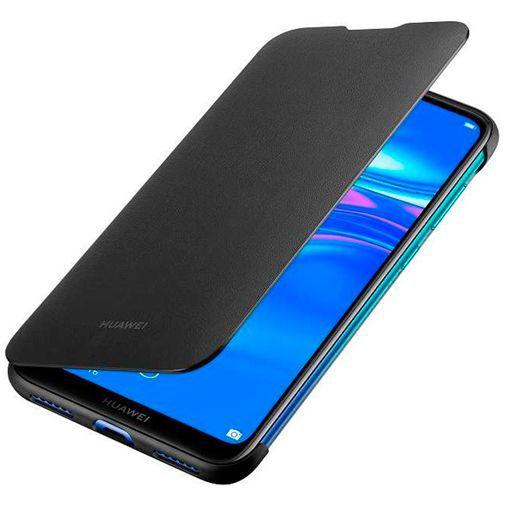 Produktimage des Huawei Flip Cover Schwarz Huawei Y7 (2019)