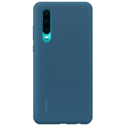 Productafbeelding van de Huawei Silicone Car Case Blue P30