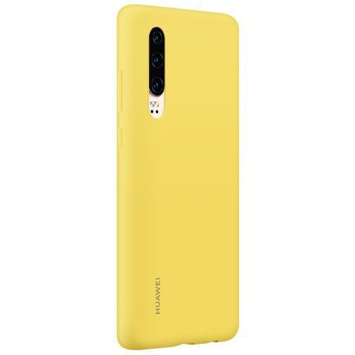 Produktimage des Huawei Silikon Car Case Gelb P30