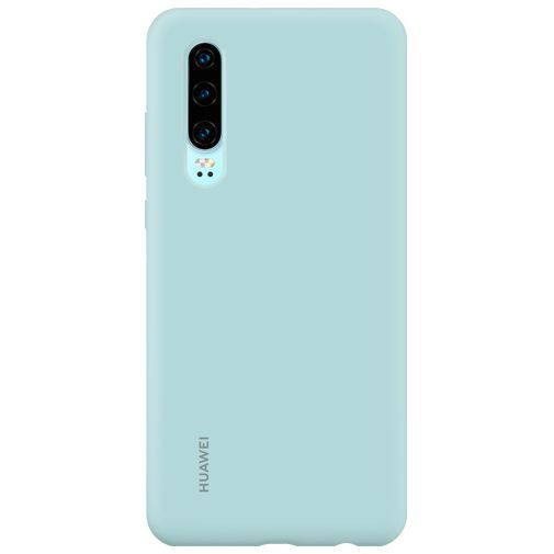 Productafbeelding van de Huawei Silicone Car Case Light Blue P30