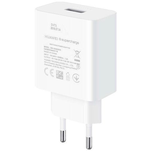 Productafbeelding van de Huawei SuperCharge 2.0 Snellader 40W + USB-C-kabel CP84 White