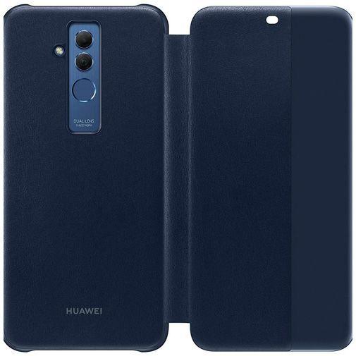 Productafbeelding van de Huawei View Flip Cover Blue Huawei Mate 20 Lite