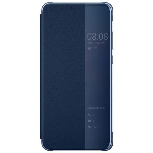 Productafbeelding van de Huawei View Flip Cover Blue Huawei P20