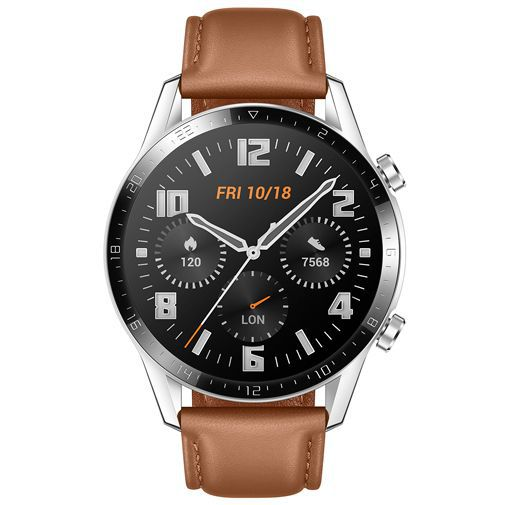 Produktimage des Huawei Watch GT 2 46mm Braun
