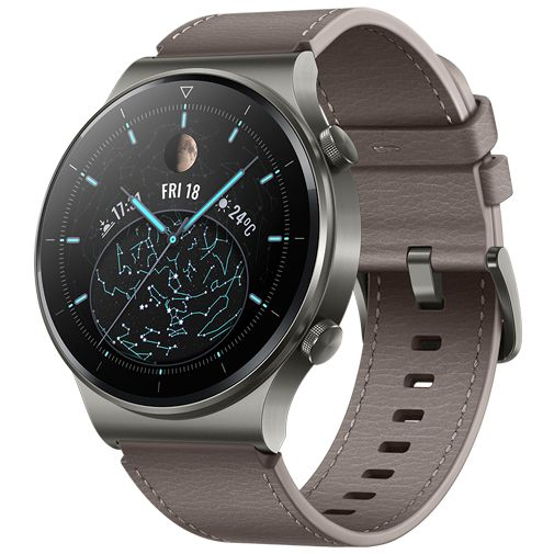 Productafbeelding van de Huawei Watch GT 2 Pro Grey