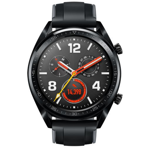 Productafbeelding van de Huawei Watch GT Sport Black