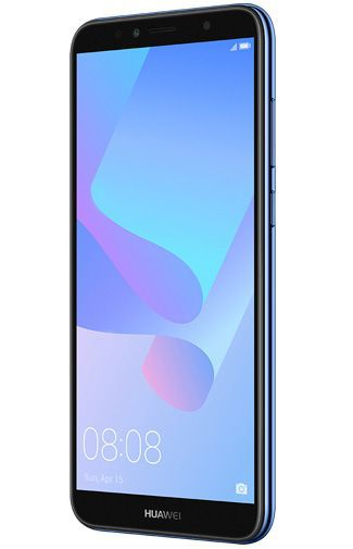 Productafbeelding van de Huawei Y6 (2018) Blue