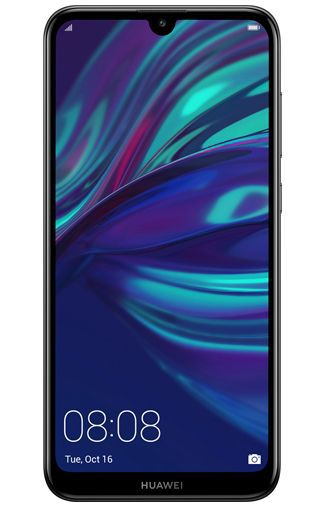 Productafbeelding van de Huawei Y7 (2019) Black