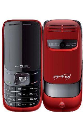 Productafbeelding van de iTT MiniDual Phone Red