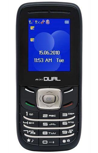 Productafbeelding van de iTT MiniDual Phone Black