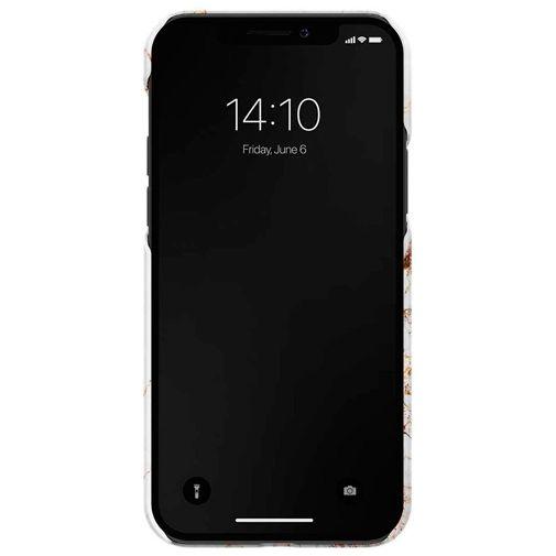 Productafbeelding van de iDeal of Sweden Kunststof Back Cover Carrara Gold Apple iPhone 12/12 Pro