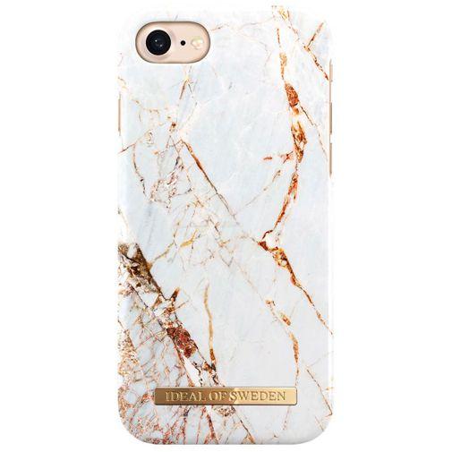 Productafbeelding van de iDeal of Sweden Kunststof Back Cover Carrara Gold Apple iPhone 7/8/SE 2020