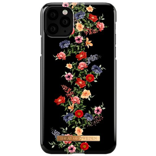 Productafbeelding van de iDeal of Sweden Kunststof Back Cover Dark Floral Apple iPhone 11 Pro Max
