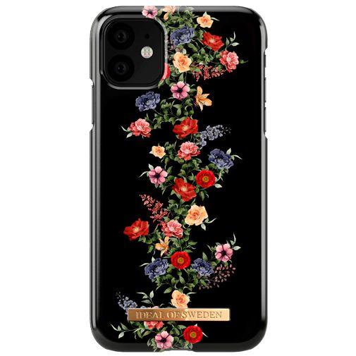Productafbeelding van de iDeal of Sweden Kunststof Back Cover Dark Floral Apple iPhone 11