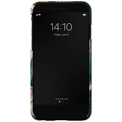 Productafbeelding van de iDeal of Sweden Kunststof Back Cover Golden Jade Marble Apple iPhone 6/6S/7/8/SE 2020