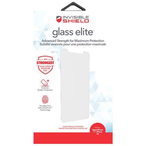 Produktimage des InvisibleShield Glass Elite Displayschutzfolie Apple iPhone XR/11