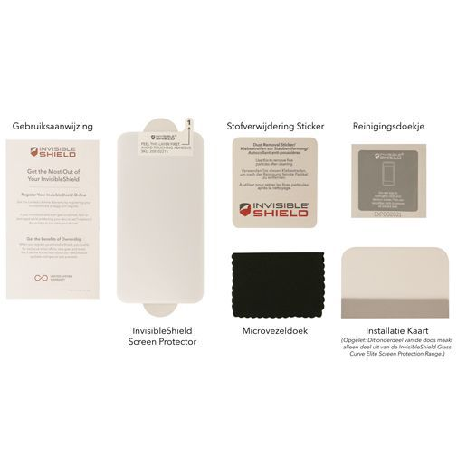 Produktimage des InvisibleShield Glass+ Privacy Displayschutzfolie Apple iPhone 6/6S/7/8/SE 2020
