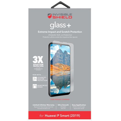 Produktimage des InvisibleShield Glass+ Displayschutzfolie Huawei P Smart (2019)