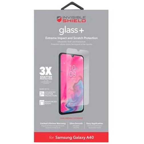 Productafbeelding van de InvisibleShield Glass+ Screenprotector Samsung Galaxy A40