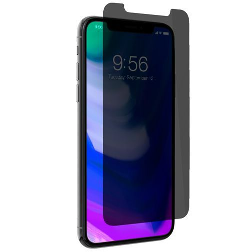 Productafbeelding van de InvisibleShield Glass+ Privacy Screenprotector Apple iPhone X/XS