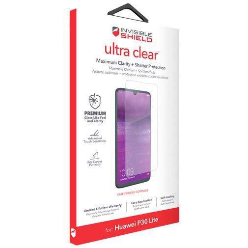 Productafbeelding van de InvisibleShield Ultra Clear Screenprotector Huawei P30 Lite/P30 Lite New Edition
