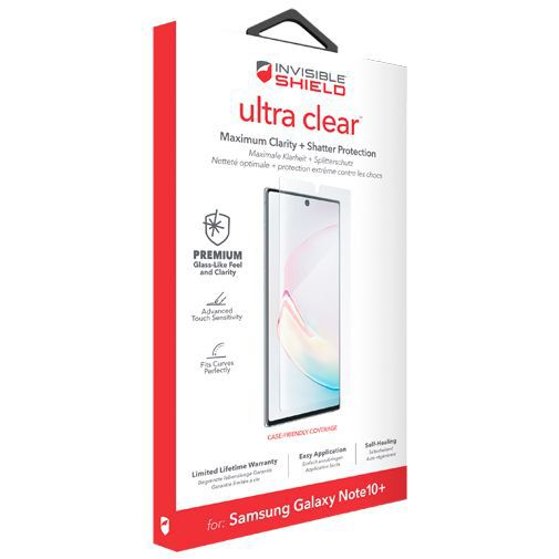 Productafbeelding van de InvisibleShield Ultra Clear Screenprotector Samsung Galaxy Note 10+