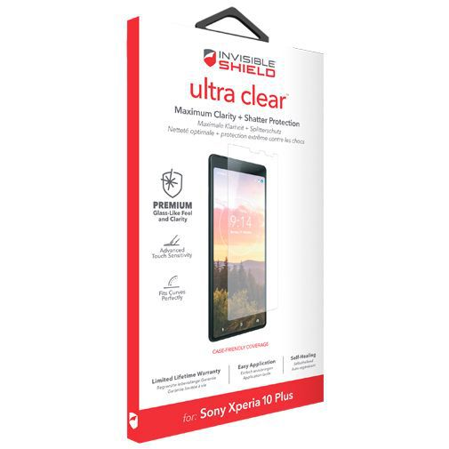 Productafbeelding van de InvisibleShield Ultra Clear Screenprotector Sony Xperia 10 Plus