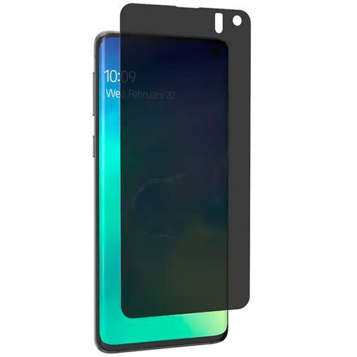 Produktimage des InvisibleShield Ultra Privacy Displayschutzfolie Samsung Galaxy S10 G973
