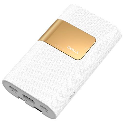 Productafbeelding van de iWalk Secretary+ Powerbank 10.000mAh White