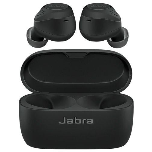 Productafbeelding van de Jabra Elite 75t Zwart (met draadloze oplaadcase)