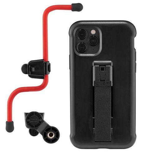 Productafbeelding van de Joby FreeHold Kit Kunststof Back Cover Zwart Apple iPhone 11 Pro