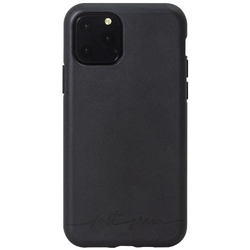 Productafbeelding van de Just Green Kunststof Back Cover Zwart Apple iPhone 11 Pro