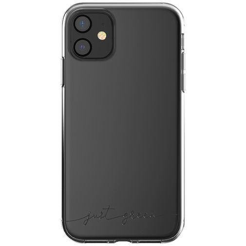Productafbeelding van de Just Green Kunststof Back Cover Transparant Apple iPhone 11