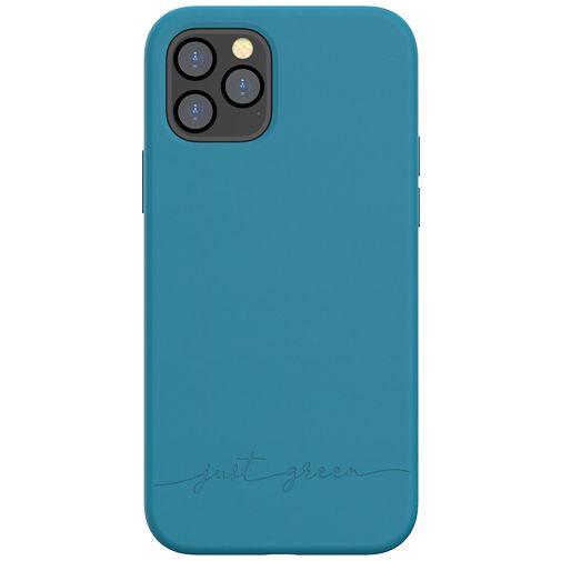 Productafbeelding van de Just Green Kunststof Back Cover Blauw Apple iPhone 12/12 Pro