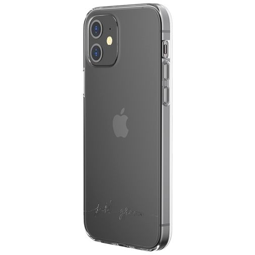 Productafbeelding van de Just Green Kunststof Back Cover Transparant Apple iPhone 12/12 Pro