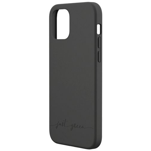 Productafbeelding van de Just Green Kunststof Back Cover Zwart Apple iPhone 12/12 Pro